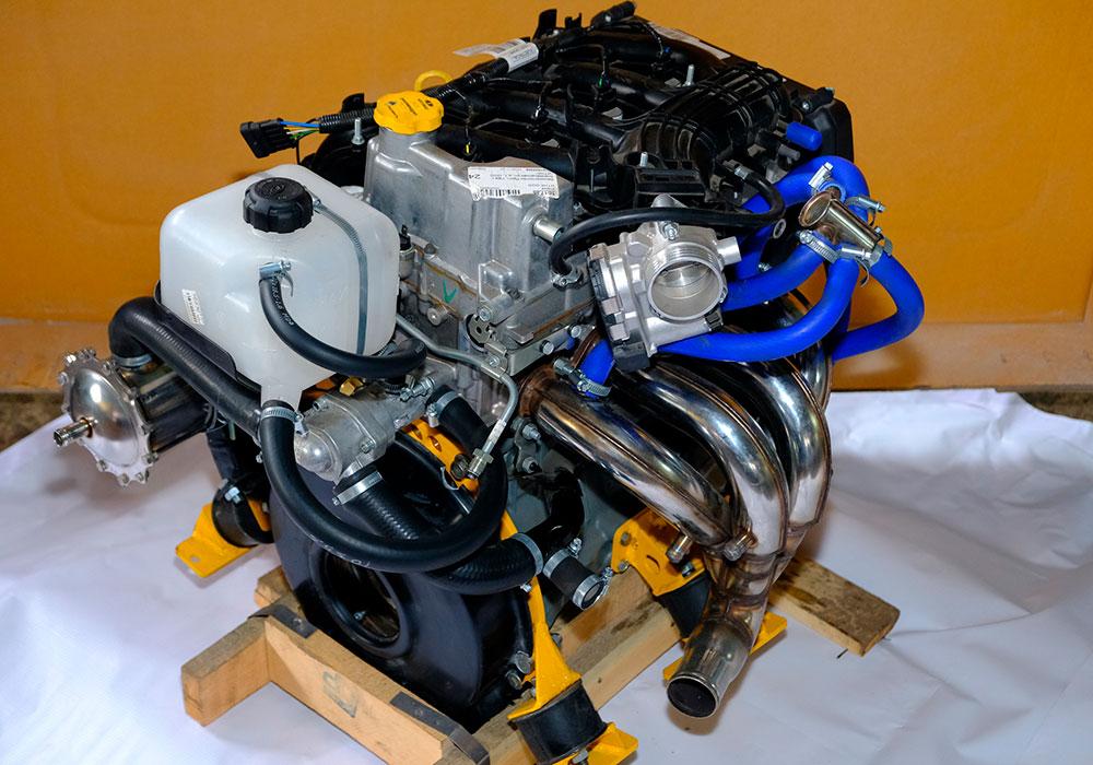 Мотор ВАЗ 21126 конвертированный